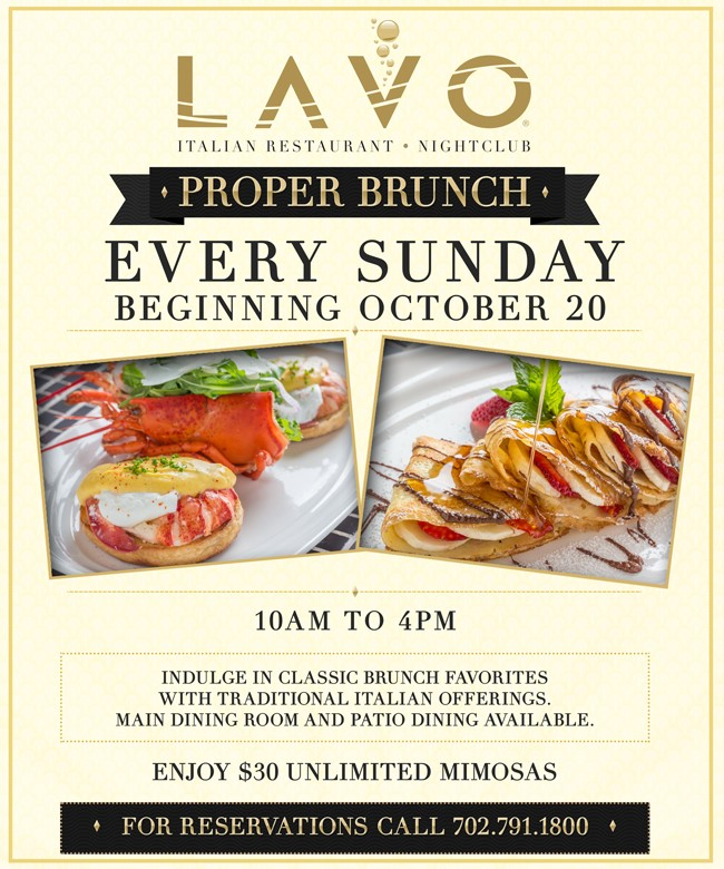 Lavo Brunch